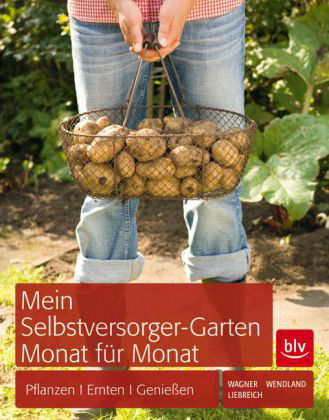 Cover for German edition of Family Kitchen Garden